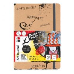 Art Journal Notebook A4