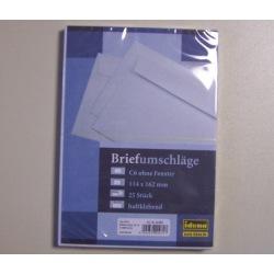 Briefumschlag C6 ohne Fenster