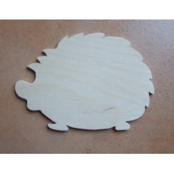 Igel aus Sperrholz