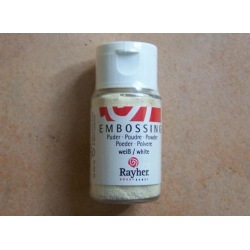 Embossing-Pulver weiß