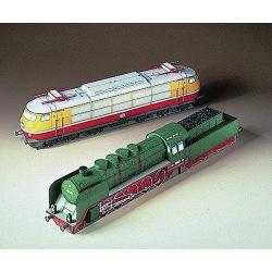 2 Lokomotiven