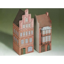 2 Häuser aus Lüneburg 1:87
