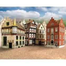 4 Altstadthäuser 1:160