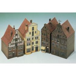 4 Häuser aus Lüneburg II 1-160