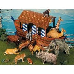 Arche Noah mit 12 Tieren
