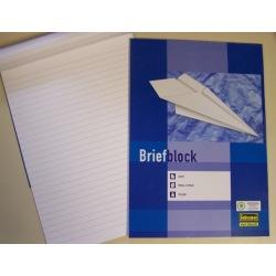 Briefblock liniert