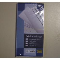 Briefumschlag DIN lang ohne Fenster