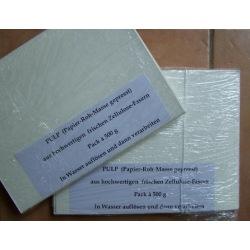 Papier-Rohmasse 500g