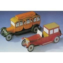 Lancia Lambda und Reisekutsche