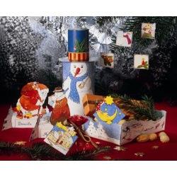 Festliche Weihnachtsbastelei
