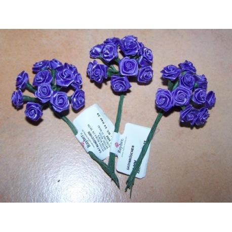 Satinröschen violett
