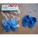 Deko-Babyschuhe 6,5cm blau