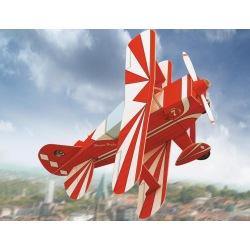 Doppeldecker-Flugzeug