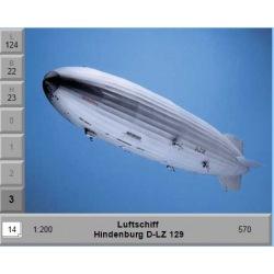Luftschiff Hindenburg D-LZ 129