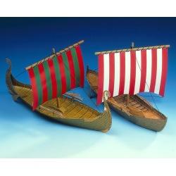 2 Wikingerschiffe