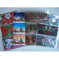 Weihnachtliche Schrumpfbanderolen