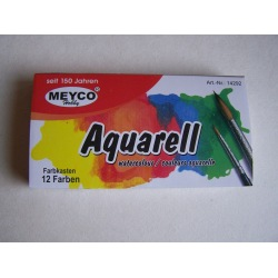 Aquarellfarben-Kasten