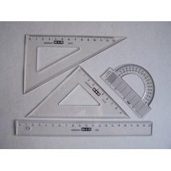 Lineal-Set für die Schule