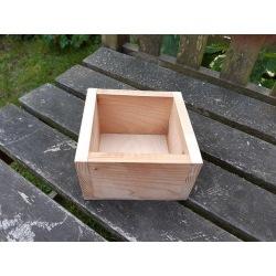 Holzkästchen 12 x 12 cm