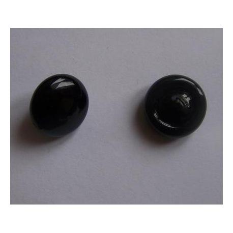 Glasaugen schwarz 20mm