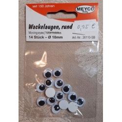 Wackelaugen 10mm