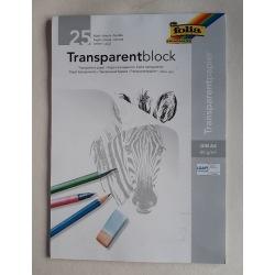 Transparentblock A4
